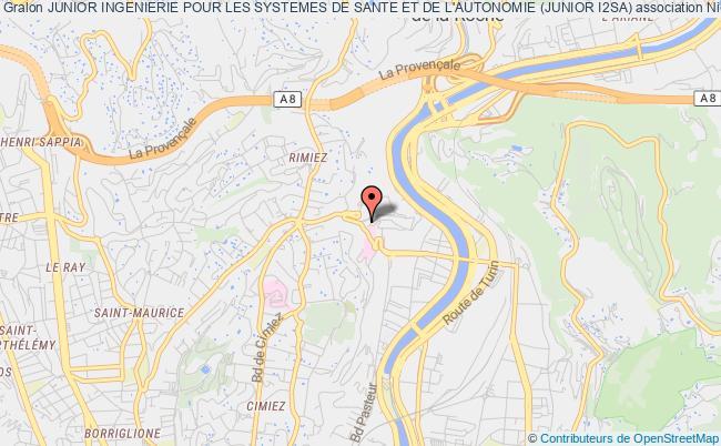 plan association Junior Ingenierie Pour Les Systemes De Sante Et De L'autonomie (junior I2sa)