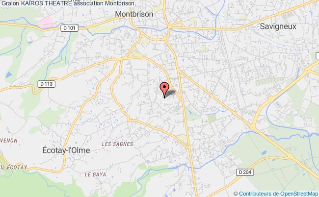 plan association KaÏros Theatre Montbrison