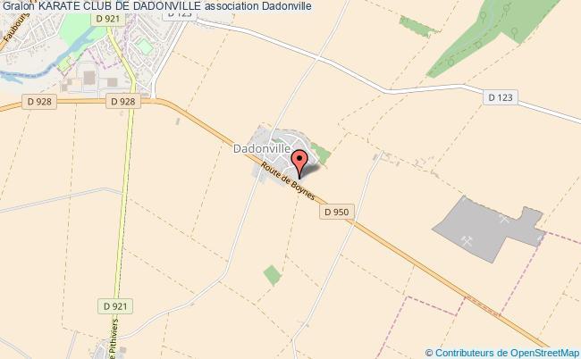 plan association Karate Club De Dadonville