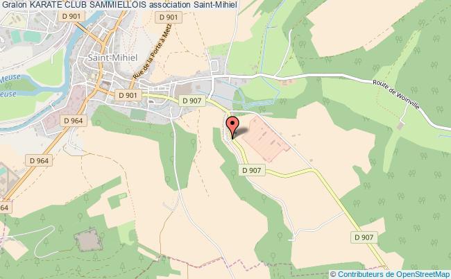 plan association Karate Club Sammiellois