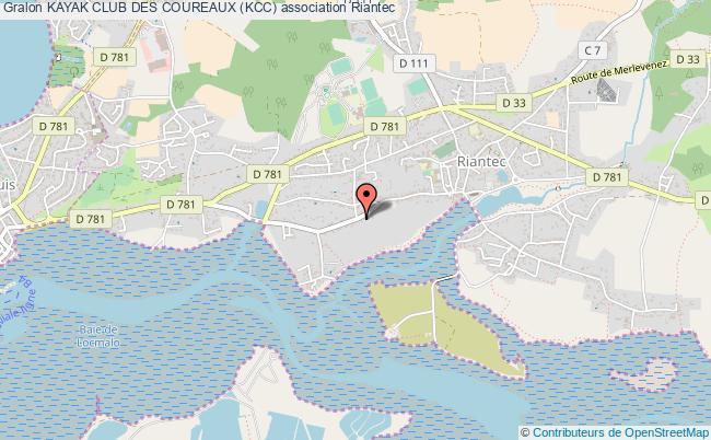 plan association Kayak Club Des Coureaux (kcc)