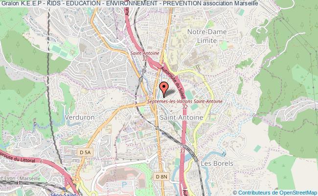 plan association K.e.e.p - Kids - Education - Environnement - Prevention Marseille