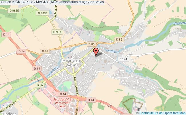 plan association Kick-boxing Magny (kbm) Magny-en-Vexin