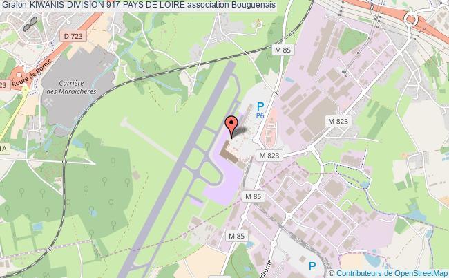plan association Kiwanis Division 917 Pays De Loire