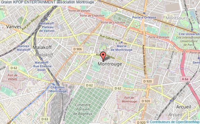 plan association Kpop Entertainment Montrouge