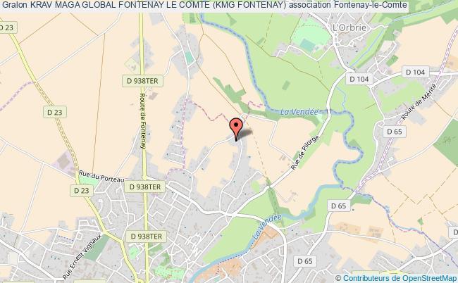 plan association Krav Maga Global Fontenay Le Comte (kmg Fontenay)