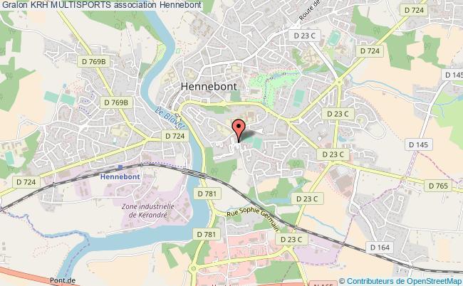 plan association Krh Multisports Hennebont