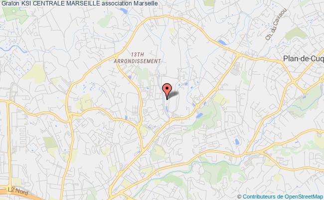 plan association Ksi Centrale Marseille Marseille Cédex 20