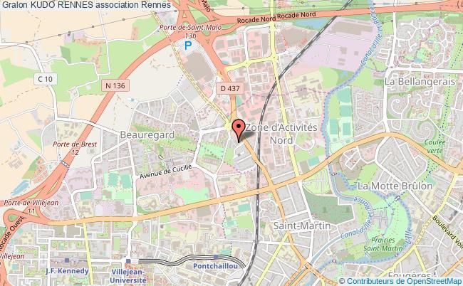 plan association Kudo Rennes Rennes