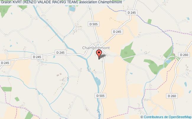 plan association Kvrt (kenzo Valade Racing Team) Champfrémont