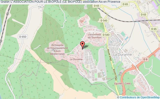 plan association L' Association Pour Le Biopole (le Biopole)
