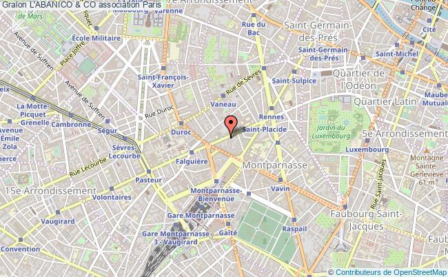 plan association L'abanico & Co Paris