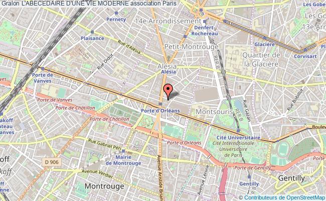 plan association L'abecedaire D'une Vie Moderne Paris