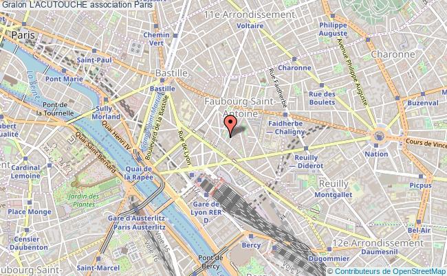 plan association L'acutouche Paris