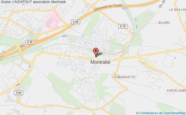 plan association L'aidatout Montrabé