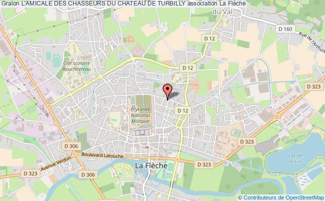 plan association L'amicale Des Chasseurs Du Chateau De Turbilly