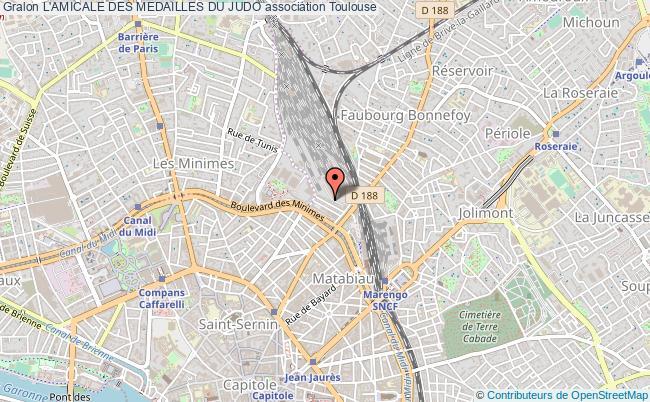 plan association L'amicale Des Medailles Du Judo