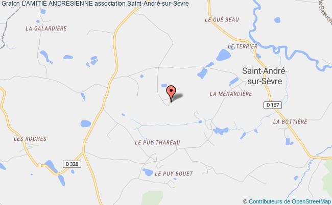 plan association L'amitiÉ AndrÉsienne