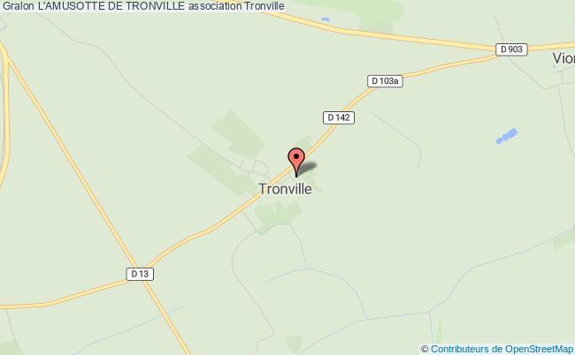 plan association L'amusotte De Tronville