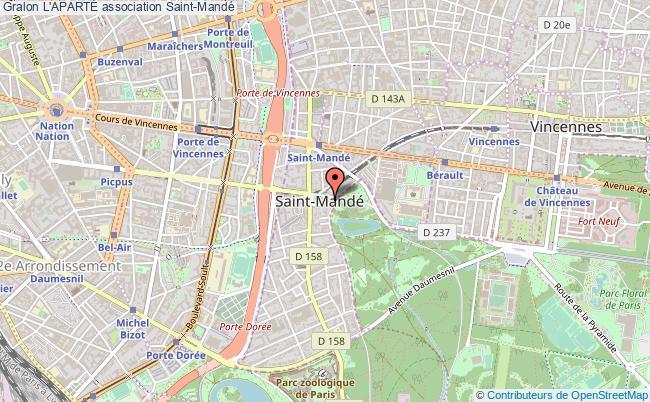plan association L'apartÉ Saint-Mandé