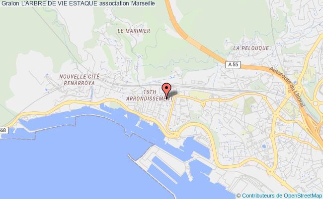 plan association L'arbre De Vie Estaque Marseille