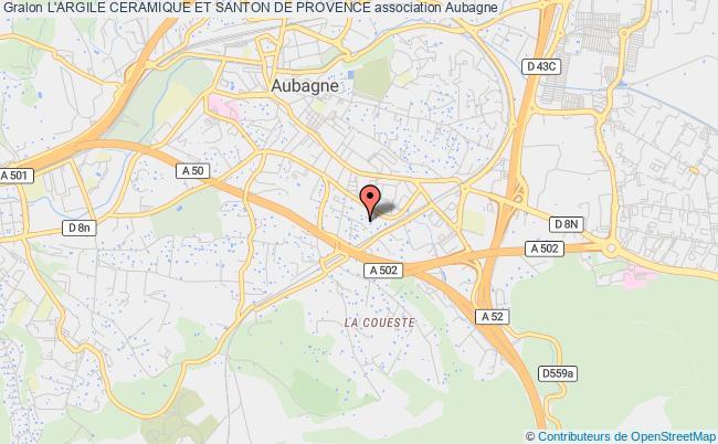 plan association L'argile Ceramique Et Santon De Provence