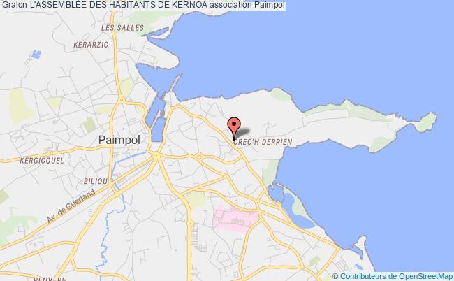 plan association L'assemblÉe Des Habitants De Kernoa Paimpol