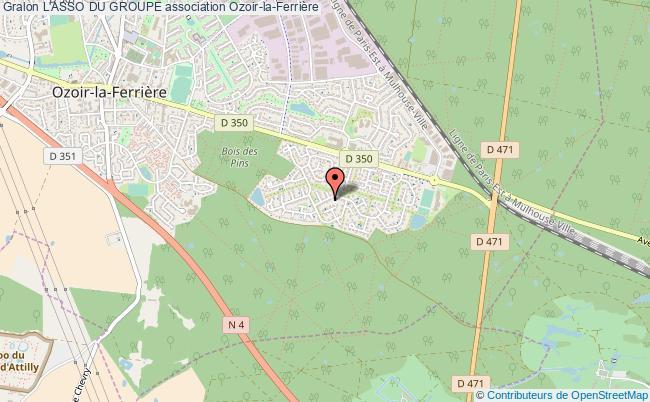 plan association L'asso Du Groupe Ozoir-la-Ferrière