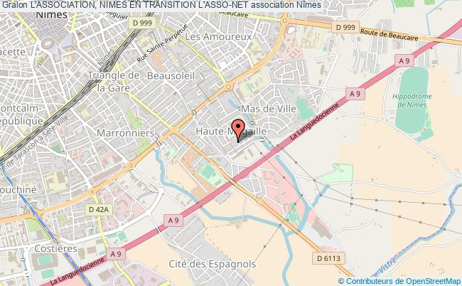 plan association L'association, Nimes En Transition L'asso-net Nîmes