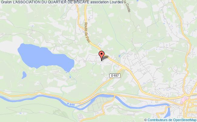 plan association L'association Du Quartier De Biscaye Lourdes