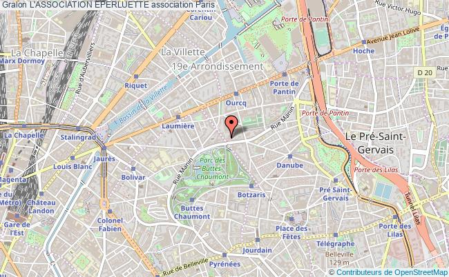 plan association L'association Eperluette