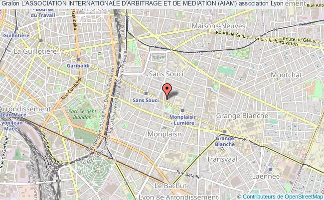 plan association L'association Internationale D'arbitrage Et De MÉdiation (aiam)