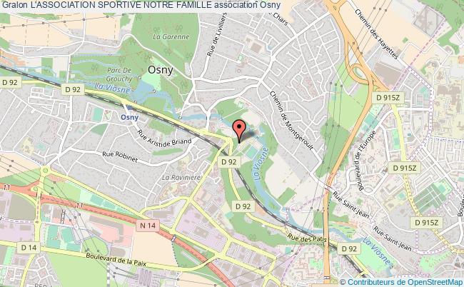plan association L'association Sportive Notre Famille Osny