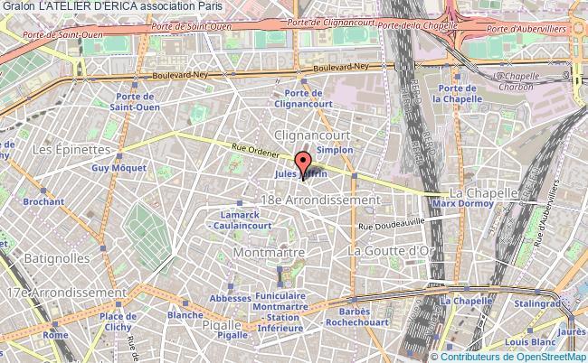 plan association L'atelier D'erica