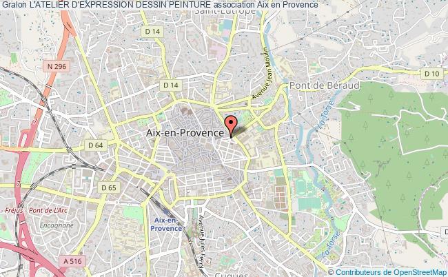 Plan Association Lu0027atelier Du0027expression Dessin Peinture Aix En Provence