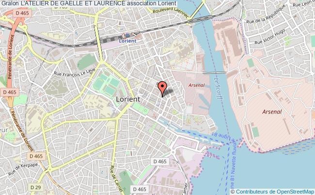 plan association L'atelier De Gaelle Et Laurence