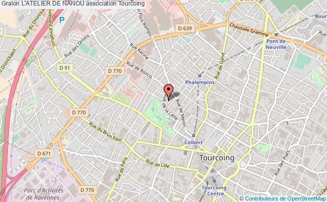 plan association L'atelier De Nanou