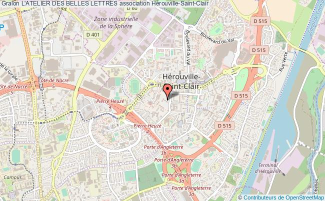 plan association L'atelier Des Belles Lettres