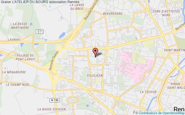 plan association L'atelier Du Bourg