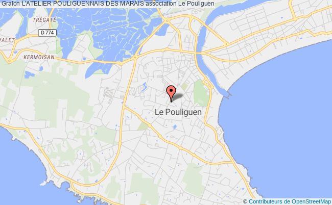 plan association L'atelier Pouliguennais Des Marais
