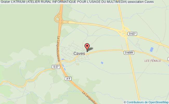 plan association L'atrium (atelier Rural Informatique Pour L'usage Du Multimedia)
