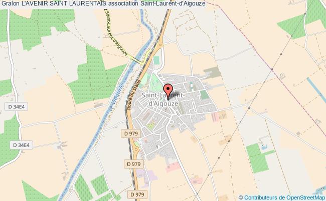 plan association L'avenir Saint Laurentais