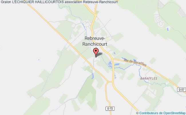 plan association L'Échiquier Haillicourtois