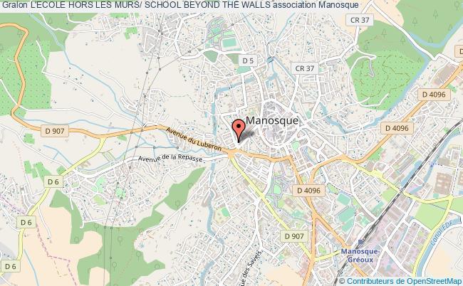 plan association L'ecole Hors Les Murs/ School Beyond The Walls