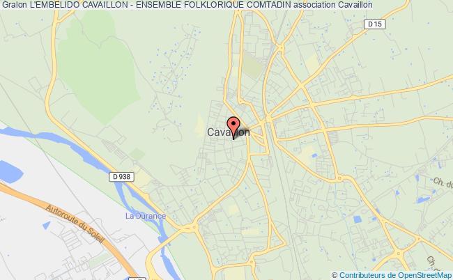 plan association L'embelido Cavaillon - Ensemble Folklorique Comtadin