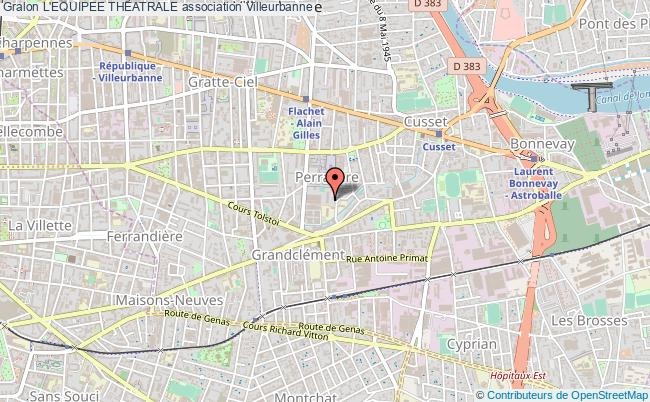 plan association L'equipee Theatrale