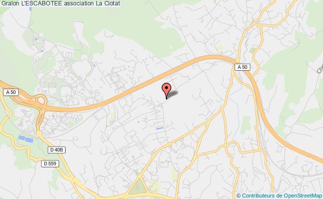 plan association L'escabotee Paris