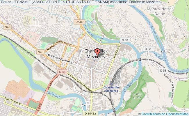 plan association L'esnamie (association Des Etudiants De L'esnam)