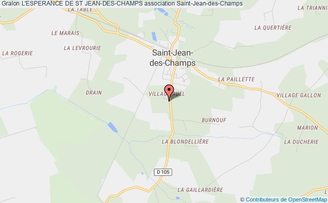 plan association L'esperance De St Jean-des-champs Saint-Jean-des-Champs