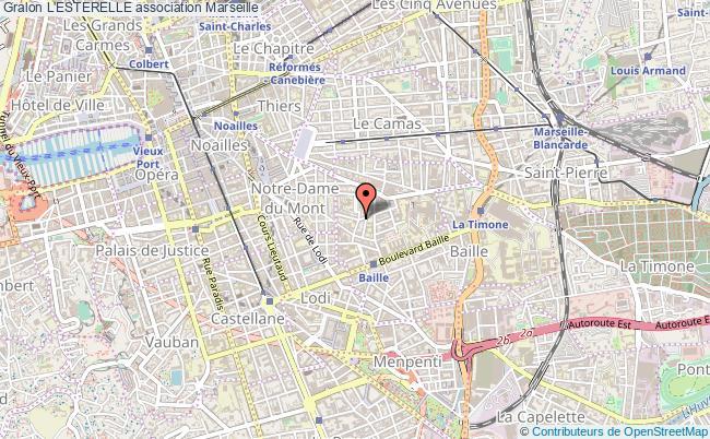 plan association L'esterelle Marseille
